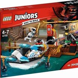 Lego Lego 10755 Zane's ninjaboot achtervolging