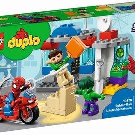 Lego Lego 10876 Spider-man en Hulk avonturen