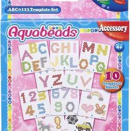 Aquabeads Aquabeads ABC & 123 Template set