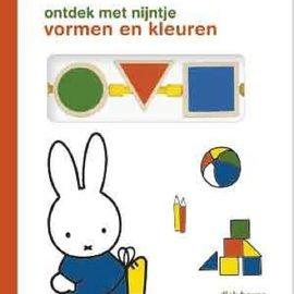 Boek Ontdek met Nijntje vormen en kleuren (kartonboek+houten blokjes)