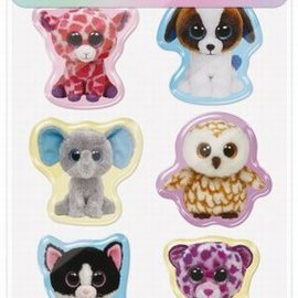 Ty Ty Beanie Boo's 3D stickers