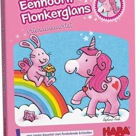 Haba Haba 301795 Eenhoorn Flonkerglans vriendenkwartet