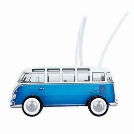Hape Hape Duwkar VW bus. blauw