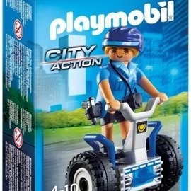 Playmobil Playmobil - Politieagente met balansracer (6877)