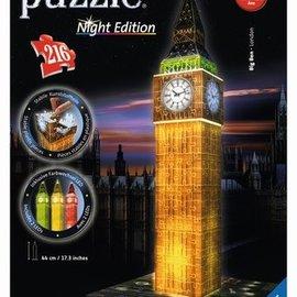 Ravensburger 3D puzzel Big Ben nachteditie