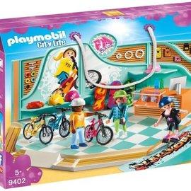 Playmobil Playmobil - Fiets- en skatewinkel (9402)