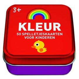 50 spelletjeskaarten voor kinderen - Kleur