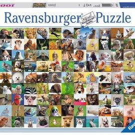Ravensburger Ravensburger puzzel 99 Vrolijke dieren (1000 stukjes)