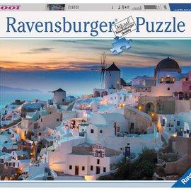 Ravensburger Ravensburger puzzel Avond in Santorini (1000 stukjes)