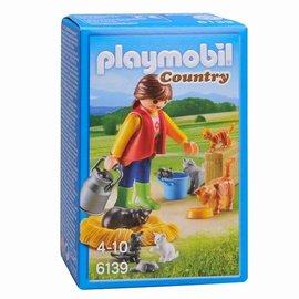 Playmobil Playmobil - Bonte kattenfamilie (6139)