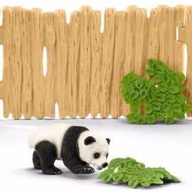 Schleich Schleich 42429 Paddock met Panda