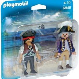 Playmobil Playmobil - Piraat en Soldaat Duopack (6846)