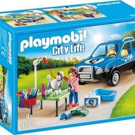 Playmobil Playmobil - Mobiele hondensalon (9278)