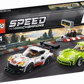 Lego Lego 75888 Porsche 911 RSR en 911 Turbo 3.0