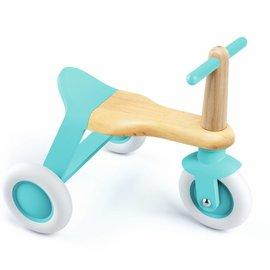 Djeco Djeco Driewieler Sit & Ride Roll'it blauw
