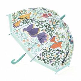 Djeco Djeco Paraplu - Bloemen en vogels