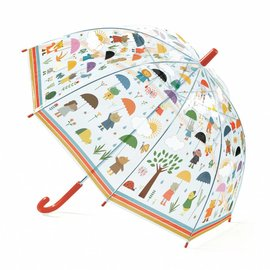 Djeco Djeco Paraplu - Onder de regen
