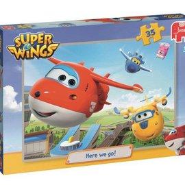 Jumbo Jumbo puzzel Super Wings (35 stukjes)
