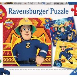 Ravensburger Brandweerman Sam Ravensburger Puzzel: (3x 49 stukjes)