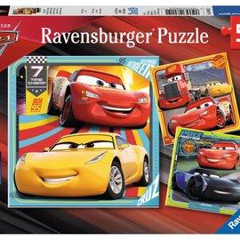 Ravensburger Ravensburger puzzel Cars 3 (3x 49 stukjes)