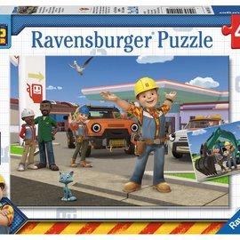 Ravensburger Ravensburger puzzel Bob de Bouwer (2x 24 stukjes)