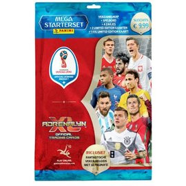 Panini Adrenalyn XL WK 2018 Mega start set