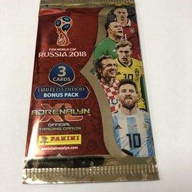 Panini Adrenalyn XL WK 2018 3 bonus kaarten pakket