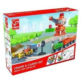 Hape Hape Crane en Cargo set