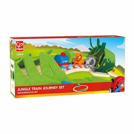 Hape Hape jungle trein reis set