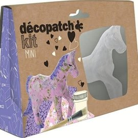 Mandarine Mandarine Decopatch kit mini paard
