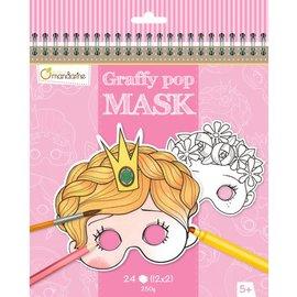 Mandarine Mandarine Graffy Pop Meisjesmaskers
