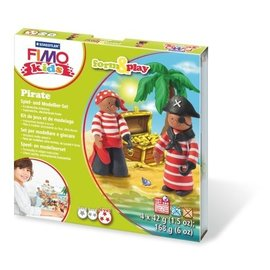 Staedtler Staedtler Fimo kids Klei set Form&Play piraat