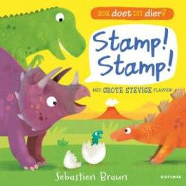 ikkemikke Stamp! Stamp! Hoe doet dit dier? Karton flapboek