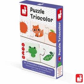 Janod Janod Puzzle Tricolor