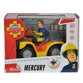 Brandweerman Sam Brandweerman Sam Auto Mercury met Figuur