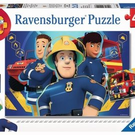 Ravensburger Brandweerman Sam Ravensburger Puzzel: Sam helpt je uit de Brand 2x24