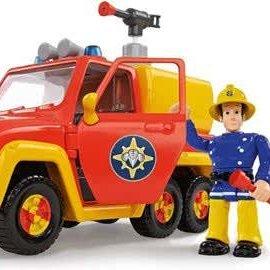 Brandweerman Sam Brandweerman Sam  Auto Venus met Figuur
