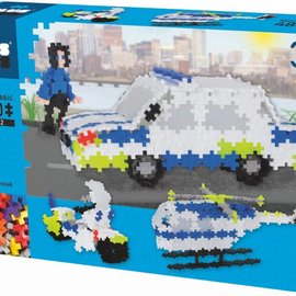 Plus-Plus Mini Basic Plus-Plus: Police 3 in 1 ; 480 stuks (3770)