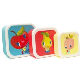 Petit Monkey Petit Monkey Lunchbox Fruities 3-delig