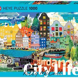 Heye Heye I Love Amsterdam 1000 stukjes