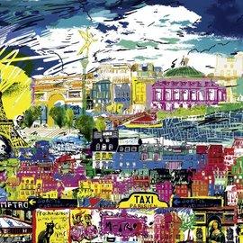 Heye Heye I Love Paris 1000 stukjes