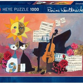 Heye Heye Cello. wachtmeister 1000 stukjes