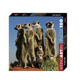 Heye Heye Weingarten Meerkats ( stokstaartjes) 100 stukjes