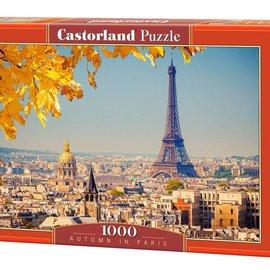Castorland Castorland Herfst in parijs (1000 stukjes)