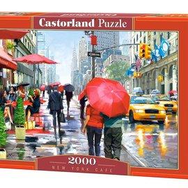 Castorland Castorland New York cafe (2000 stukjes)