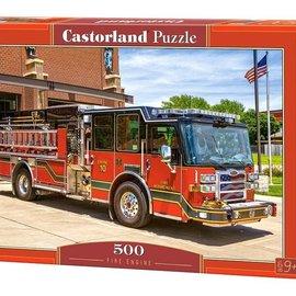 Castorland Castorland Brandweerwagen (500 stukjes)