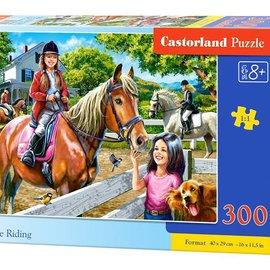 Castorland Castorland Paardrijden (300 stukjes)