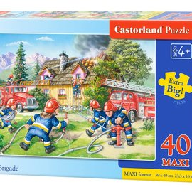 Castorland Castorland Brandweer (40 maxi stukjes)