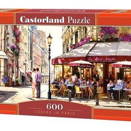 Castorland Castorland Geliefden in Parijs (600 stukjes)