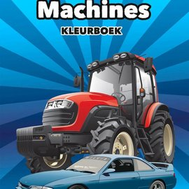 Tactic Selecta Auto's en machines kleurboek